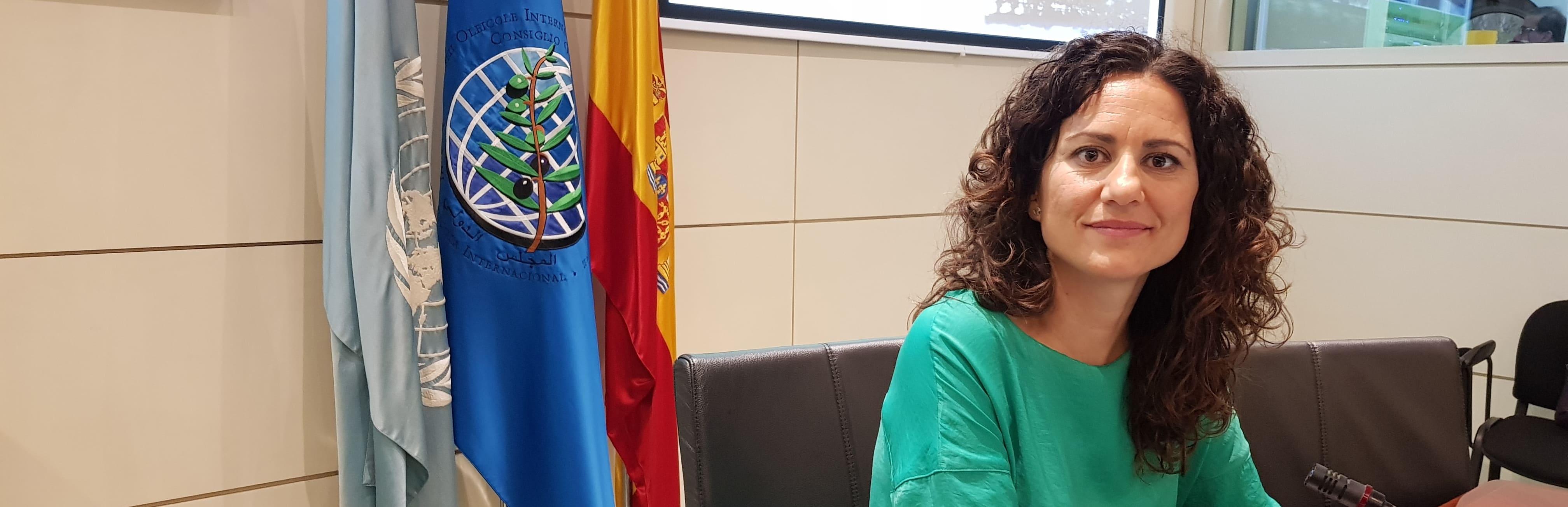 Macarena Díaz Ramos, jefa de panel del laboratorio Indlab en el Curso Internacional para jefes de panel del COI