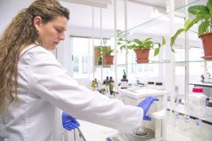 Preparando muestras para el laboratorio